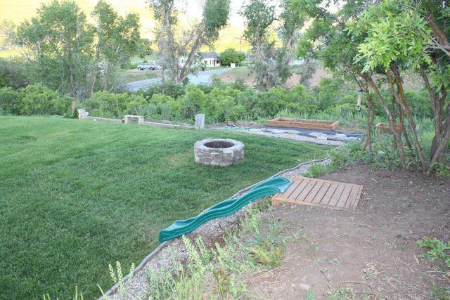 Backyard Hill Slide : slide built into a hill  Backyard ideas  Pinterest