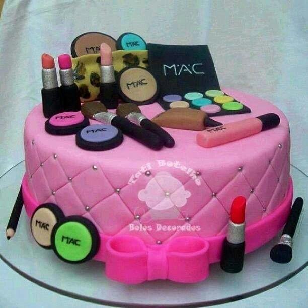 Makeup Cake Images : Mac makeup cake Make Up and Designs Pinterest
