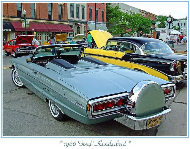 1966 thunderbird with continental kit continental kit pinterest. Black Bedroom Furniture Sets. Home Design Ideas