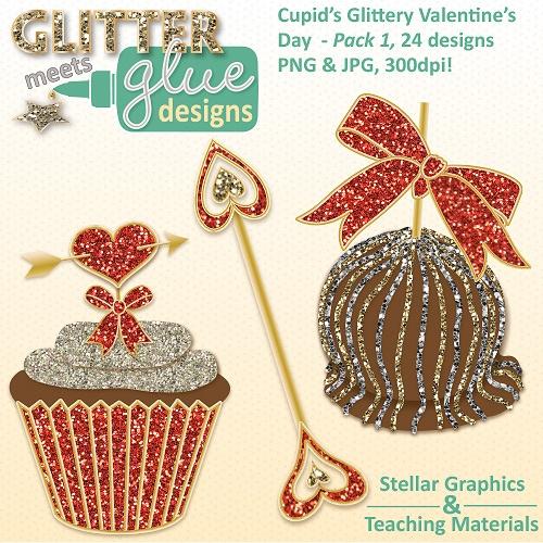 Cupid s Glittery Valen...