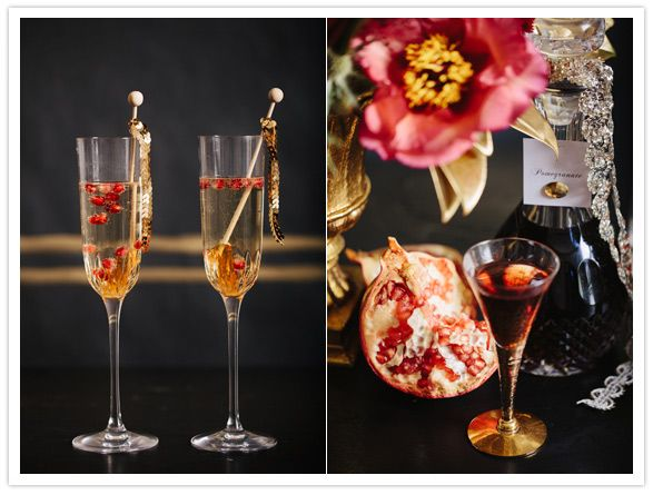 Holiday cocktail ideas entertain pinterest for Christmas cocktail decorations