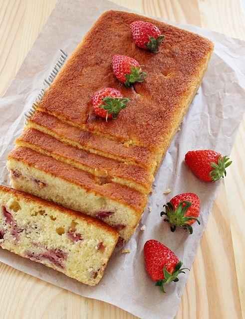 Lemon and Strawberry Loaf