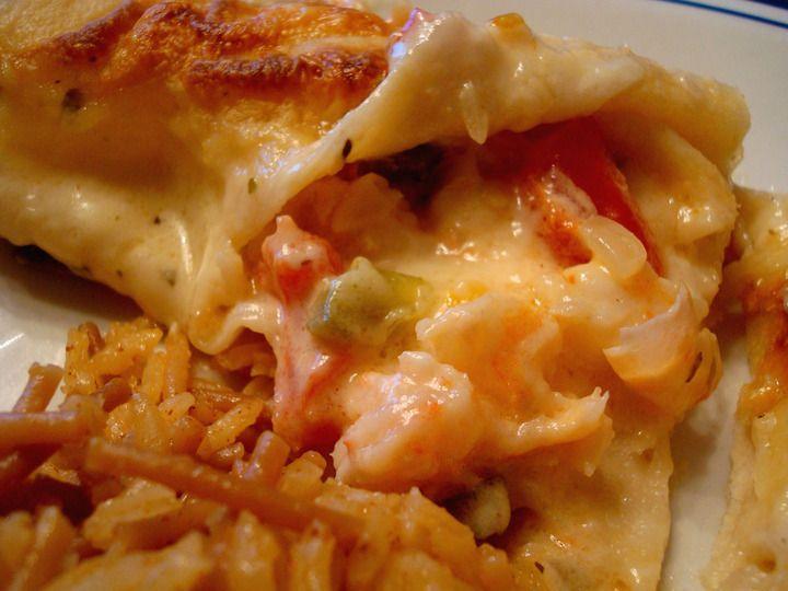 Shrimp Enchiladas | Recipes to try | Pinterest
