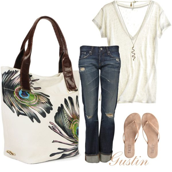 peacock bag, created by stacy-gustin.polyvore.com