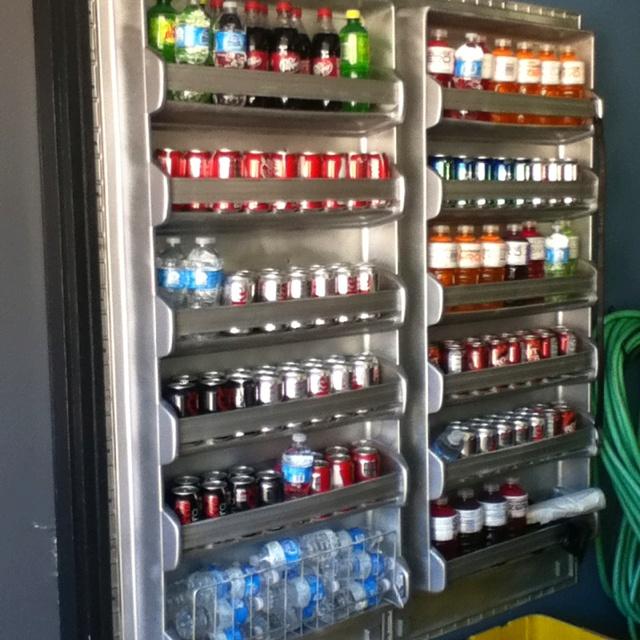 Old refrigerator doors.. Revised. | Craft Ideas | Pinterest