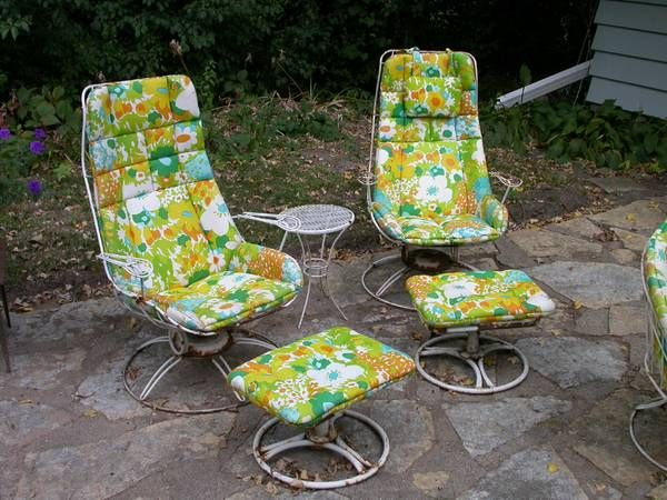 Homecrest Vintage Patio Furniture New Apartment Ideas Pinterest