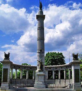 jefferson davis monument richmond