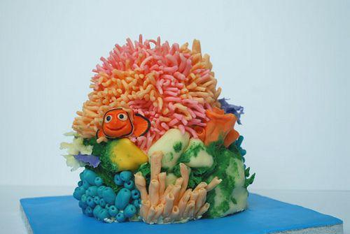 Nemo cake  by Love to Cake, via Flickr