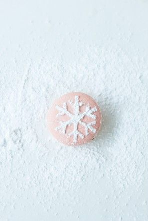Snowflake macaroon | Recipes | Pinterest