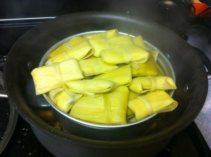 Make your own homemade tamales