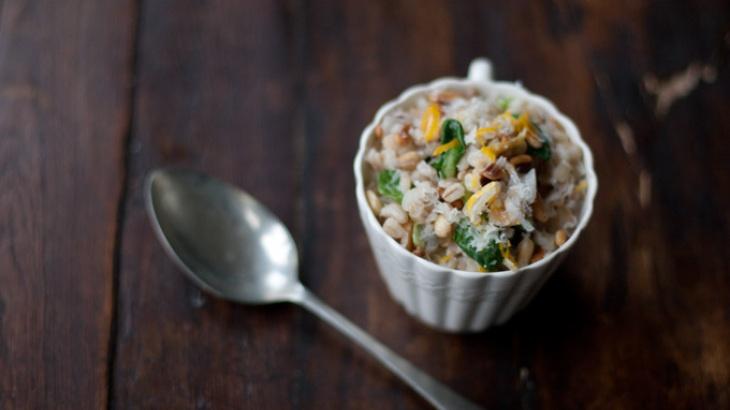 Meyer Lemon Risotto | Vegetarian entrees | Pinterest