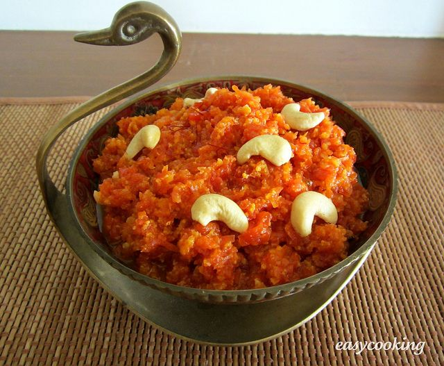 Gajar ka Halwa - Sweet carrot pudding with ghee and nuts, had this in ...