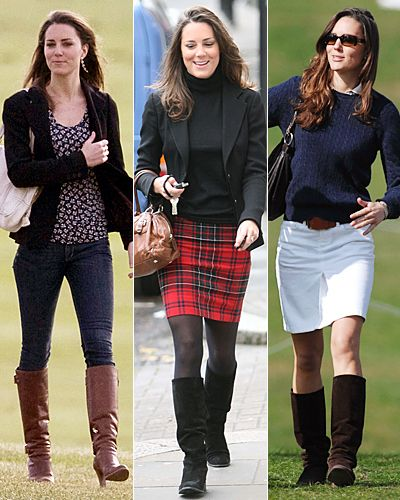 Knee length boots are a nice investment to make as they go well with tight-fitting jeans and knee-length skirts.