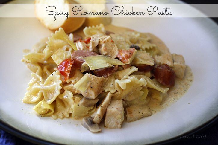 Spicy Romano Chicken Pasta | Yummy Food | Pinterest
