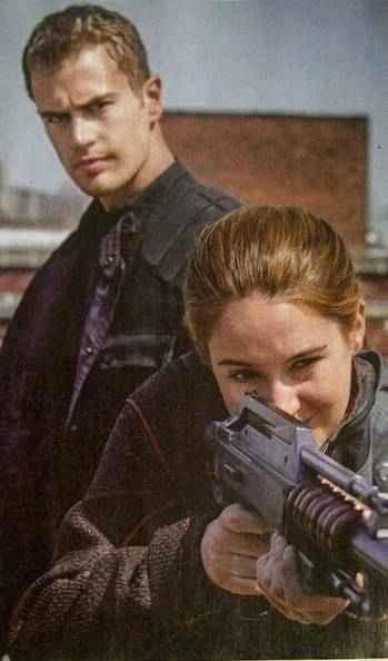 Divergent : four and tris gun training | Divergent | Pinterest