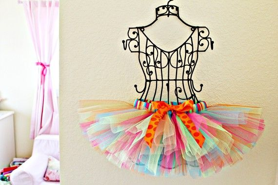 Bright Fun Colors Baby Girl Tutu  1st 2nd by OhhSoSweetBowtique, $24.50