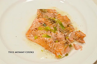 Roasted Salmon with White Wine Sauce | Low Sugar/ Low Carb/Paleo/Keto ...