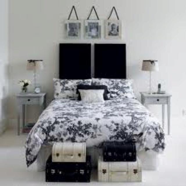 Frames Black White And Teal Bedroom Pinterest