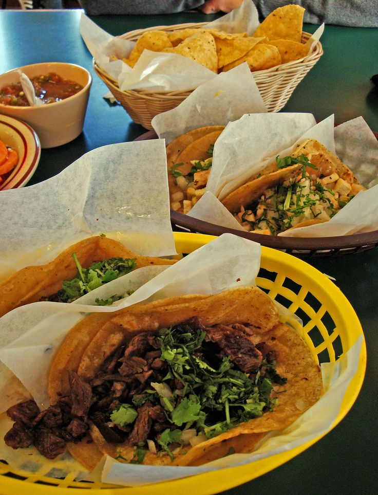 Tacos authentic mexican food dinner pinterest for Authentic mexican cuisine