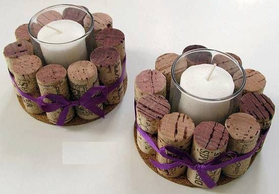 Candles and cork
