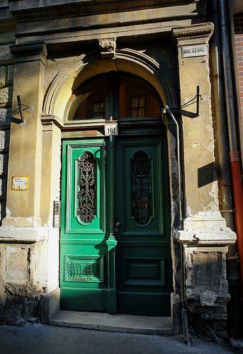 Budapest, Jewish Quarter Erzsébetváros