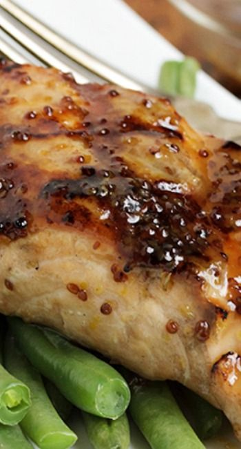 Maple Mustard Grilled Salmon | Recipe