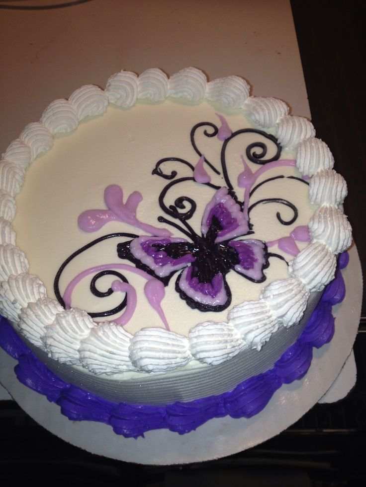 Dq cakes...Dairy Queen. cake decorating ideas Pinterest