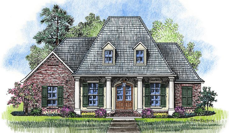Madden Home Design The Evangeline House Plans Pinterest