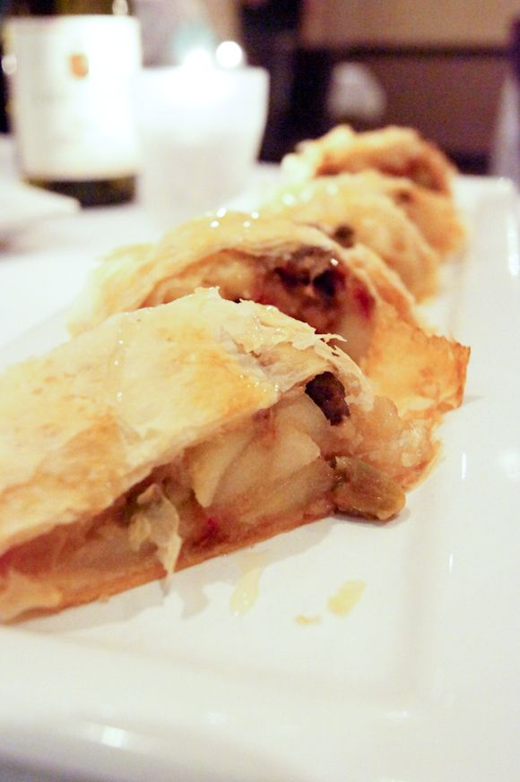 Medjool Date and pIstachio strudel from Pane Rustica