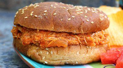 Carolina Pulled-Pork Sandwiches Recipe — Dishmaps