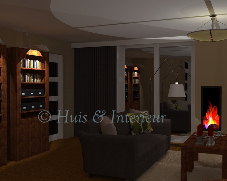 Woonkamer verlichtingsplan o a lampjes bij de for Huis interieur tips