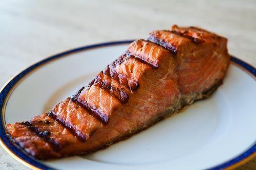 Easy Teriyaki Salmon by simplyrecipes | Dash Diet | Pinterest