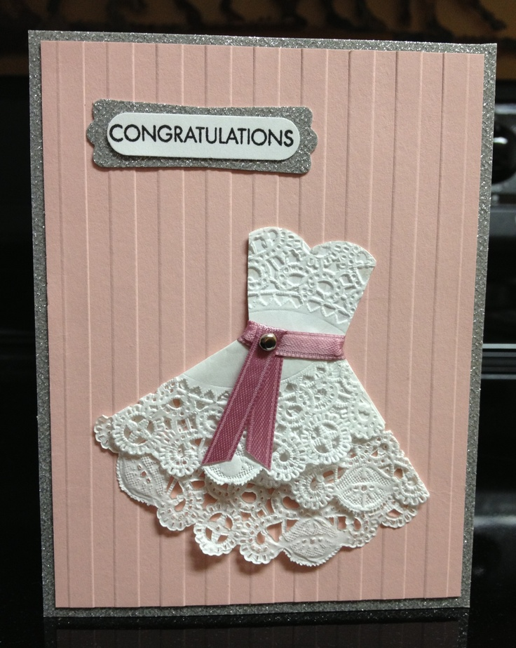 Bridal Shower Card Card Ideas Wedding Anniversary Engagement