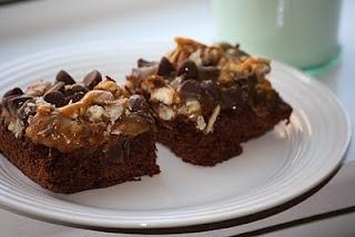 Caramel Pecan Brownies | Cookies/Brownies/Bars | Pinterest