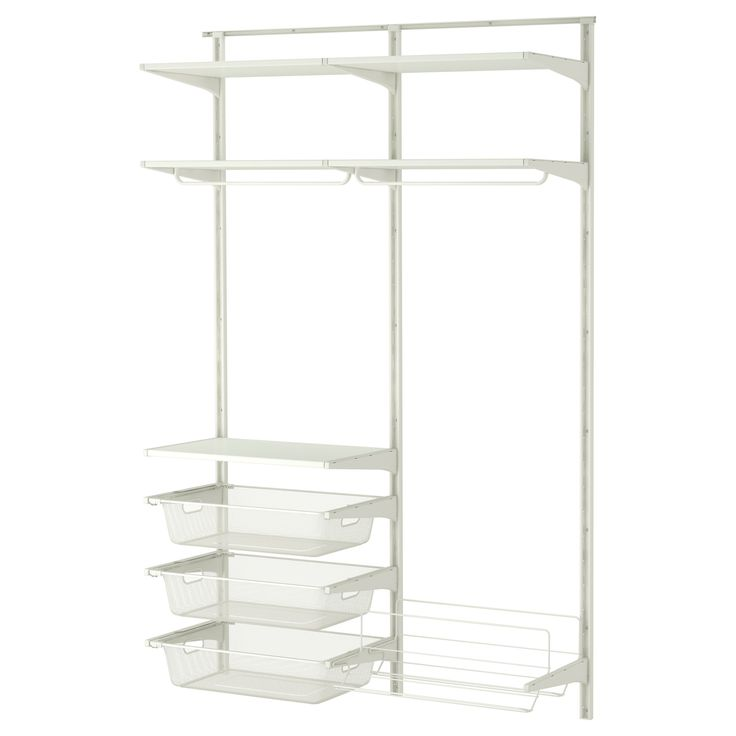 Wandtattoo Kinderzimmer Ikea ~ ALGOT Wall upright rod shoe organizer  IKEA Mike's closet