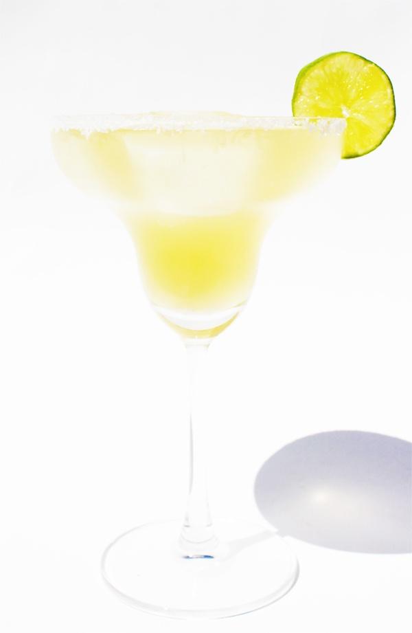 The best Margarita! Mezcal Margarita on the Rocks!