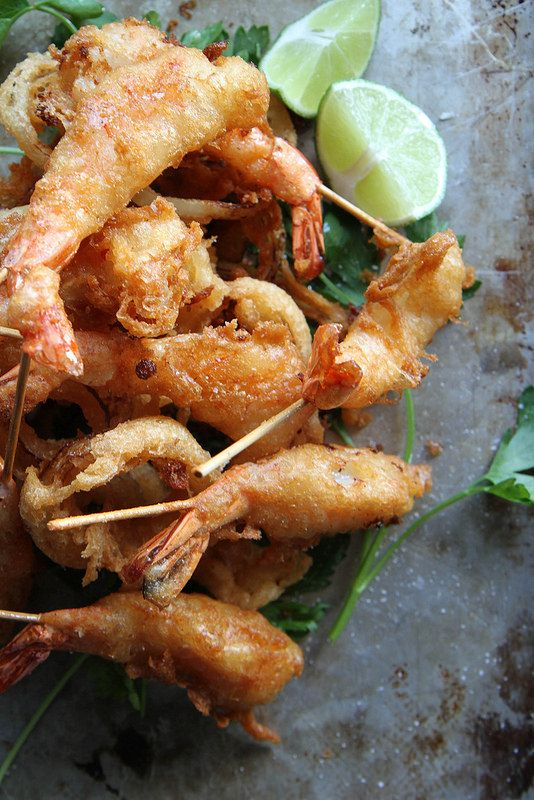 Fried Shrimp with Soy Chili Apricot Sauce | Recipe