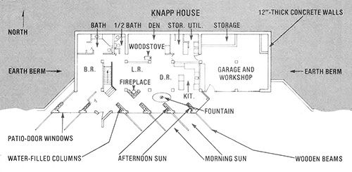 065 earth sheltered home floor plan earth sheltered earth sheltered underground floor plans