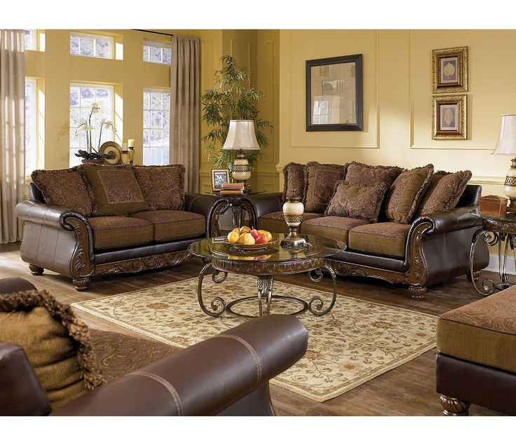Signature design by ashley williamston 4 piece living room for 4 piece living room set