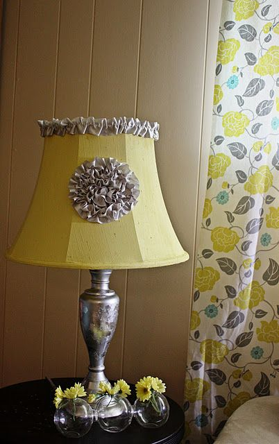 Painted lamp shade for the home pinterest for Painting light shades