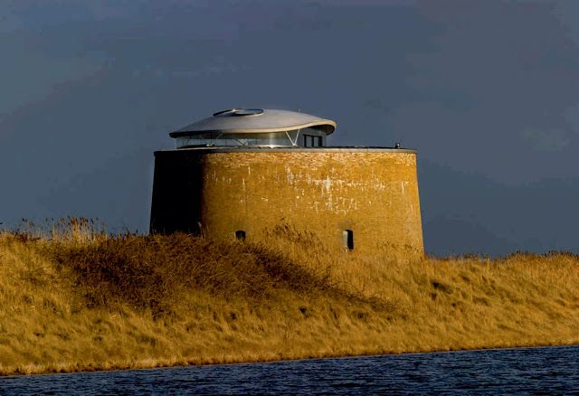 """Martello tower """"y"""" by piercy conner architects nature"""