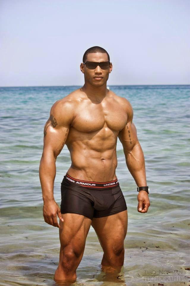 Black free gay man naked