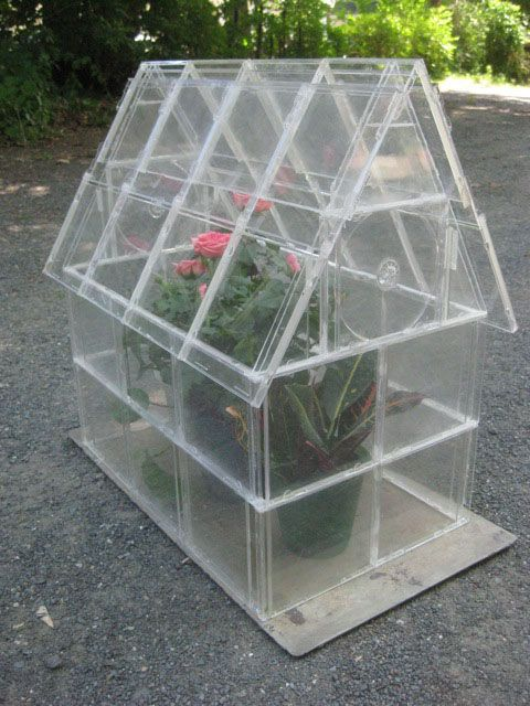 CD Case Greenhouse - 21 Creative DIY Upcycle Projects