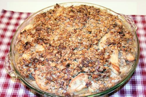 Open Face Apple Pie with Cinnamon Roll Crust | Food | Pinterest