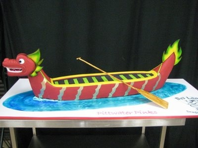 Dragon boat cake ideas images