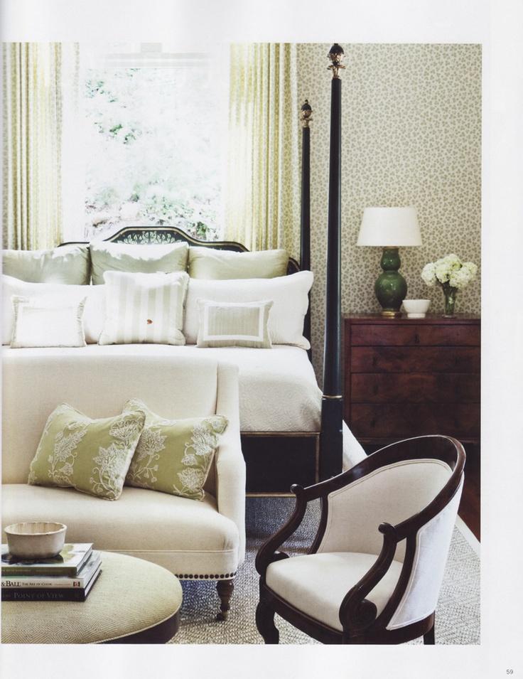 subtle green in bedroom by phoebe howard pretty bedrooms pinterest
