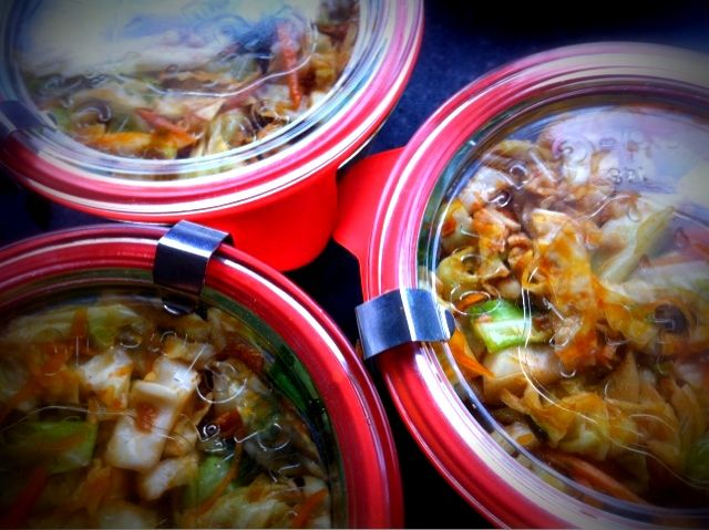 "Quick Kimchi (ready in two days)- Not as pungent as the ""real thing ..."
