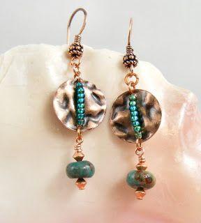 Sweet Freedom Designs: Metal and WireWork Earrings