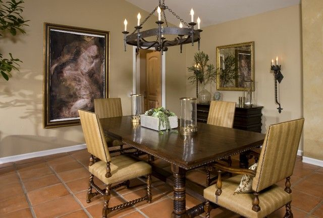 Dining Room Spanish Awesome Decorating Design
