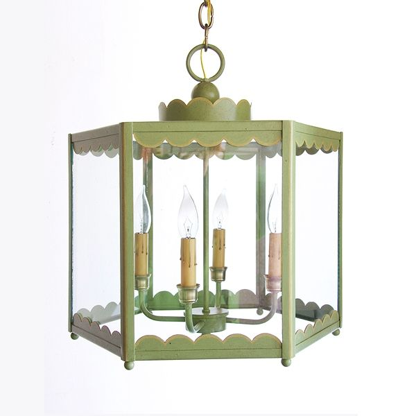 Coleen and Company Lighting - Scalloped Lantern. LOVE COLEEN AND CO!